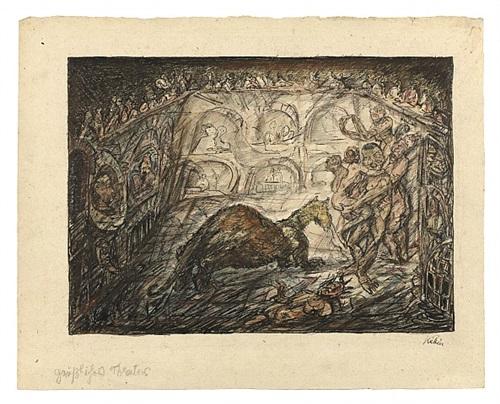 grässliches theater [gruesome theatre] by alfred kubin